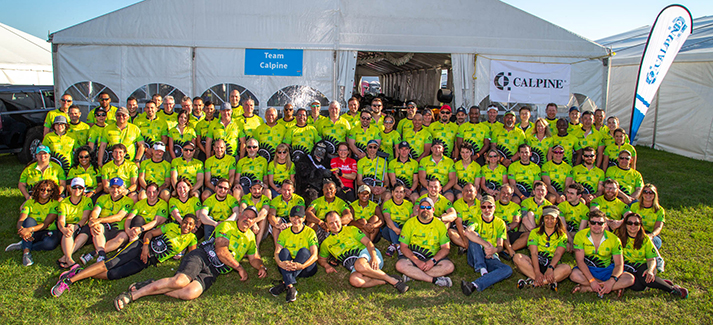 Congratulations to Calpine's 2019 MS 150 team, which raised more than $183,000 through this Houston-to-Austin cycling event.