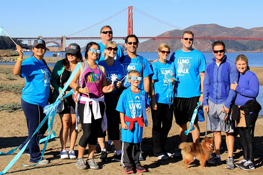The Calpine Foundation is a longtime supporter of the American Lung Association's fundraising walks in the San Francisco Bay area.