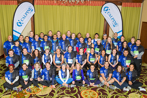Calpine's 2018 Houston Marathon team of runners and volunteers raised more than $30,000 for the Alzheimer's Association.