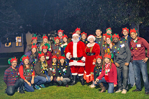 The Calpine Energy Solutions team helped make the holidays special for Big Brothers Big Sisters of San Diego County.