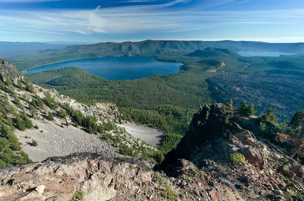 Newberry Volcano, Oregon